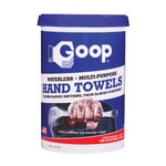 GOOP 930 Hand Wipes Type, Hand Wipes Form, 90ct Container Size Industrial Hand Cleaner Soap